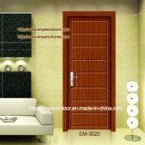 Puerta invisible, Penel PVC Puerta, Puerta de madera simple