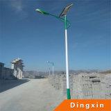 10m上の90W LEDランプそして電池が付いている太陽LEDの街灯