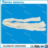 Preparación de plata de la cuerda del alginato del calcio del AG, 2 x 30 cm