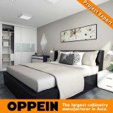 Meubles bien équipés confortables modernes de chambre à coucher de résidence hôtelière d'Oppein (OP16-HOTEL03)