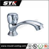 Poignée de robinet moulé sous pression en alliage de zinc pour accessoires de salle de bains (STK-14-Z0057)