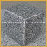 Gris / Negro / Amarillo / Rojo Piedra cúbica del granito, Cubestone, pavimentación, Cobblestone con la superficie natural