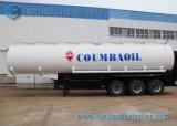 Paralleltrapez-Fluss-Stahl Q345 Tri-Radachse Kraftstoff-Tanker-halb Schlussteil 50000 Liter