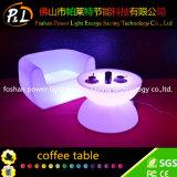 LED 정취 점화 가구는 빛난 테이블의 둘레에 불이 켜진다