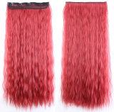 熱い販売のトウモロコシ熱いクリップ毛の合成物質のかつら