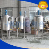 Tanque de mistura de leite de aço inoxidável / tanque de agitação