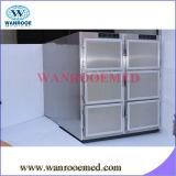 Medical Hospital 201 Refroidisseur de morgue en acier inoxydable, réfrigérateur de cadavre