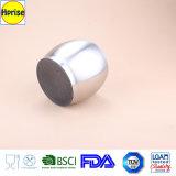 Double support de brosse en verre breveté de toilette de plancher d'acier inoxydable de mur, stand de brosse de cuvette de toilette