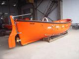 Canoa de salvação aberta da fibra de vidro marinha do motor Diesel