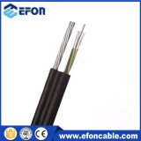 Câble de fibre optique uni-mode autosuffisant aérien de 12 faisceaux Fig8 (GYFTC8Y)