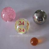 As esferas desobstruídas acrílicas da resina da dimensão da elevada precisão usadas como a precisão Crafts acessórios