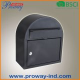 New Design Round Metal Mailbox