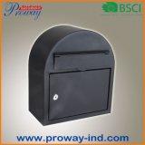 Neuer Entwurfs-runde Metalmailbox