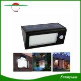 32 la luz de calle solar brillante estupenda del sensor de movimiento de la luz de la pared del LED PIR 3.5W impermeabiliza el patio al aire libre del jardín de 3 modos de iluminación