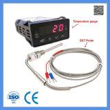 Par termoeléctrico da temperatura do gás de exaustão