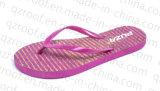 PVC Zapatilla de impresión estriada Señora (RF15094)