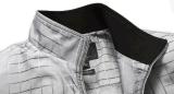 Windundurchlässige wasserdichte Form-Steigung überprüfte Jacken der Sprung-Herbst Männer