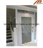 Glashaupthöhenruder mit panoramischem Aufzug