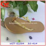 Sexy Ladies Flip Flops Deslizador durable Unsix para el verano