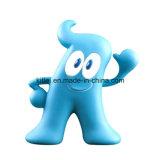 선물 야간등 번쩍이는 장난감이 동물성 PVC 비닐 플라스틱에 의하여 농담을 한다