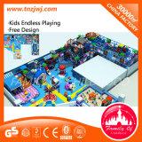 Оборудование спортивной площадки игры детей коммерчески крытое мягкое