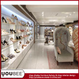 상한 Lady High Heeled Shoes 및 Boots Display Showcase, Woman Shoes Retail Shop Design