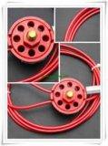 사용하기 편한 단단히 안전 통제를 가진 바퀴 유형 케이블 차단