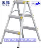 (AP-2103) Escada Foldable de alumínio portátil do andaime telescópica
