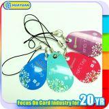 Изготовленный на заказ PVC RFID Keyfob бирки 1K печатание MIFARE классицистический