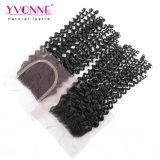 Hochwertiges brasilianisches Jungfrau-Haar-Schliessen