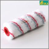 Rouleau de peinture acrylique de bandes de rouge et de gris (Dia40mm)