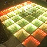 2016新しいProducts LED 3D Optical Illusions LED Mirror LED Dance Floor
