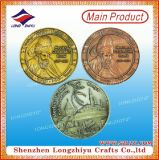 Fábrica de vendas diretas USA Custom Enamel Alloy Challenge Coins