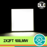 Alta UL Dlc LED Panel Light Recessed Installation Panel Light di Lighting Efficacy 100lm/W