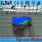 P3.91 SMD, das im Freien farbenreichen LED-Bildschirm druckgießt