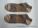 Mann Stripes Baumwollknöchel-Socken (PTMS16064)