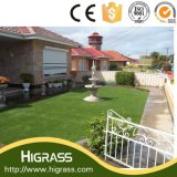 Grama artificial do jardim durável da falsificação da alta qualidade
