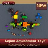 Equipo al aire libre de Playset de los niños hermosos encantadores del diseño (X1510-6)