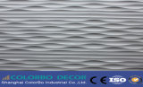 Panneaux décoratifs de beau mur d'onde de matériau de construction