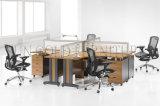 Перегородки кабины Hotsale рабочее место таблицы дуба офиса перекрестной самомоднейшее (SZ-WS028C)