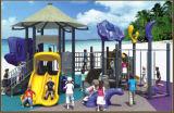 (Отличено!) Спортивная площадка детей Kaiqi среднего размера с динозавром и скольжениями (KQ50043A)