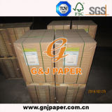 papier 58GSM vergé blanc en feuille pour le marché de l'Amérique du Sud