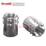通されたステンレス鋼の挿入ナットM2-M12