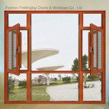 스테인리스 그물 (FT-W85)를 가진 알루미늄 단면도 여닫이 창 유리창