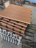 DIY WPCのバルコニーのための屋外のDeckingの床タイル
