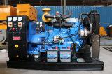 Weifangのディーゼル機関のブラシレス交流発電機による50kw携帯用電気発電機