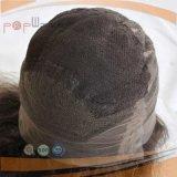 安く完全なレースのかつら、100%の人間の毛髪の緩い巻き毛の女性のかつら