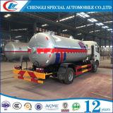 Dongfeng 6 Wheel 5cbm LPG Road Tank Truck