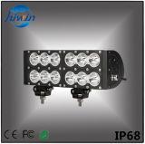 Lumières élevées de véhicule des lumens DEL de la barre 120W d'éclairage LED de 11.3 pouces pour le camion tous terrains d'UTV SUV