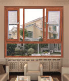 Diseño durable de la ventana del dormitorio de la ventana de aluminio